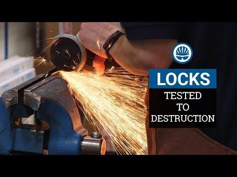 Tested – £11,000 of Bike Locks Destroyed