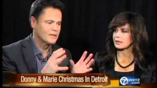 Donny and Marie in Detroit