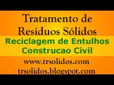Reciclagem de entulhos da construcao civil DISK ENTULHO SOROCABA