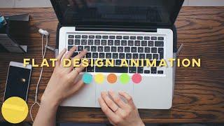 How I make flat design animations