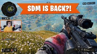 IS THE SDM BACK?! | Black Ops 4 Blackout | PS4 Pro