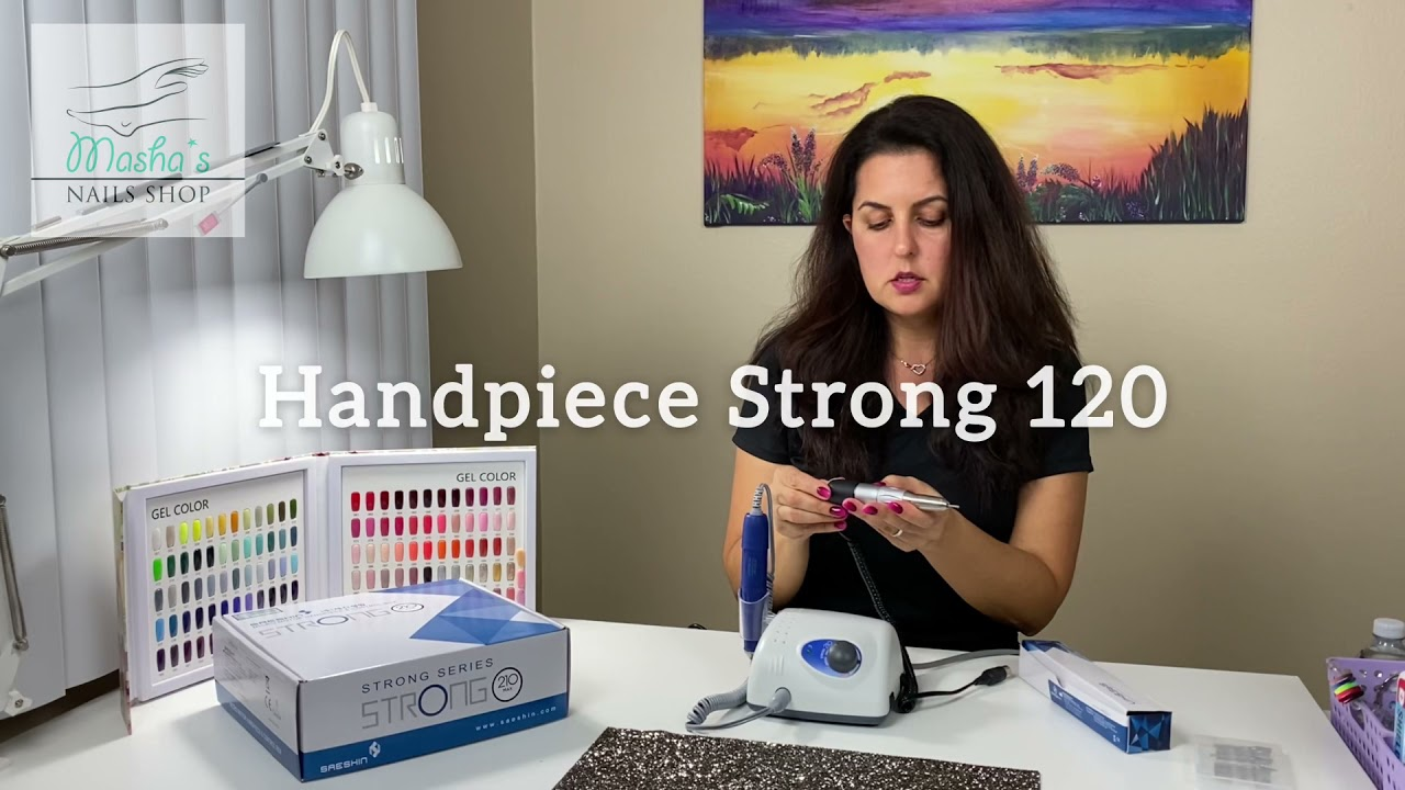 🇺🇸  Review of Strong 120 micromotor handpiece.
