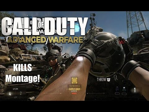 Call of Duty: Advanced Warafare Multiplayer - Kills Montage Gameplay!