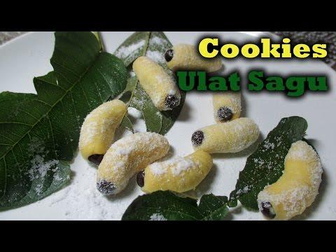 Video Cara Membuat Cookies Ulat Sagu