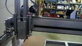 Belt-driven cnc - Just got motion