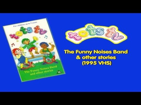 Tots TV: The Funny Noises Band & other stories (1995 VHS)