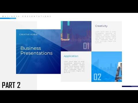 Business Presentation Slide Design Tutorial | Microsoft PowerPoint ...