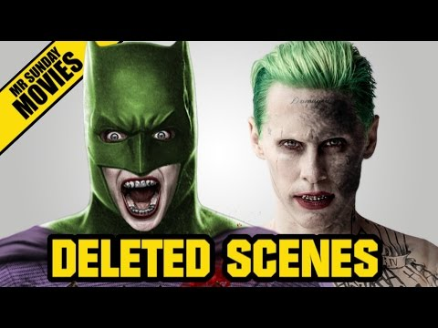 SUICIDE SQUAD Deleted Scenes & What Happened?