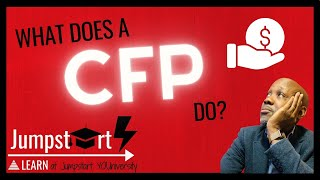 Certified Financial Planner Career   What Does A CFP Do