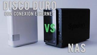 NAS vs Disco con conexión ethernet