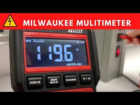 Milwaukee Digital Multimeter Overview - For Beginners