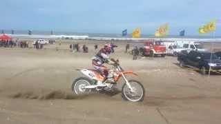 preview picture of video 'Enduro del Atlántico - Orense 2014 - Motos, marca última vuelta - RCC 97.9 FM'