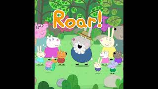 Grampy Rabbit's Dinosaur Song #Shorts #Peppa #PeppaPig