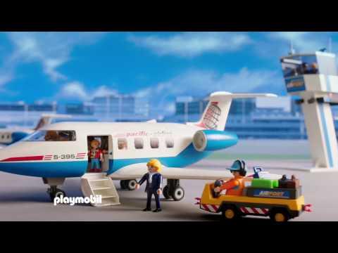 Набор Playmobil Пассажирский самолет