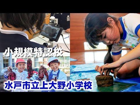 【小規模特認校】水戸市立上大野小学校の紹介