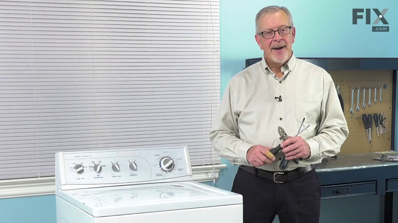 Replacing your Whirlpool Washer Direct Drive Water Pump