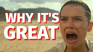 Why Star Wars: The Rise Of Skywalker is GREAT