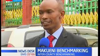 Makueni Government is holding a benchmarking exercise in Meru County