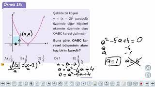Eğitim Vadisi 11.Sınıf Matematik 8.Föy B) İkinci Dereceden Fonksiyonlar ve Grafikleri 2 Konu Anlatım Videoları