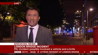 BBC Breaking News - 03/06/17 London attack part 2 (11.10pm to 00.40am)