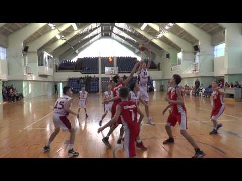 Успехи самарцев на первенстве России по баскетболу среди юношей 2001 года рождения