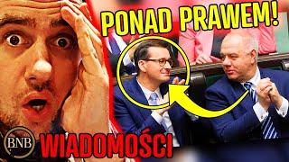 Morawiecki i Sasin NIETYKALNI! Politycy WYŚMIALI wyrok sądu | WIADOMOŚCI