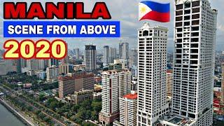 Aerial View Of Manila Bay | Dagat Wala Ng Basura!