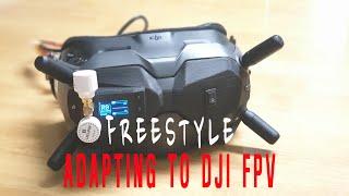 [ Kidult FPV ] Adapting to DJI FPV // DJI 디지털 적응 연습