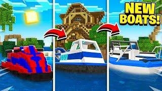 7 NEW Boats Minecraft NEEDS to add!