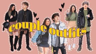 WE TRY MATCHING COUPLE OUTFITS ✨ KOREAN FASHION CHALLENGE