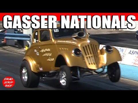 Gasser Nationals Nostalgia Drag Racing Thompson Raceway Park