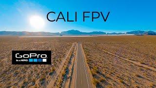 FPV GoPro Hero 9 Cali Desert Solar Field Roadtrip - iFlight DC5 - DJI Digital HD FPV