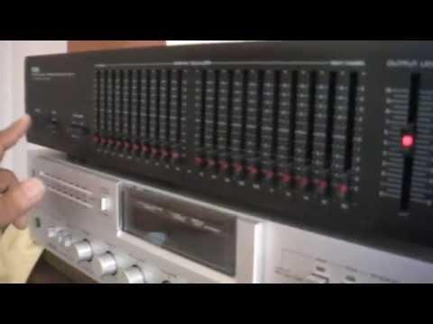 Yamaha EQ-70 Natural Sound Graphic Equalizer