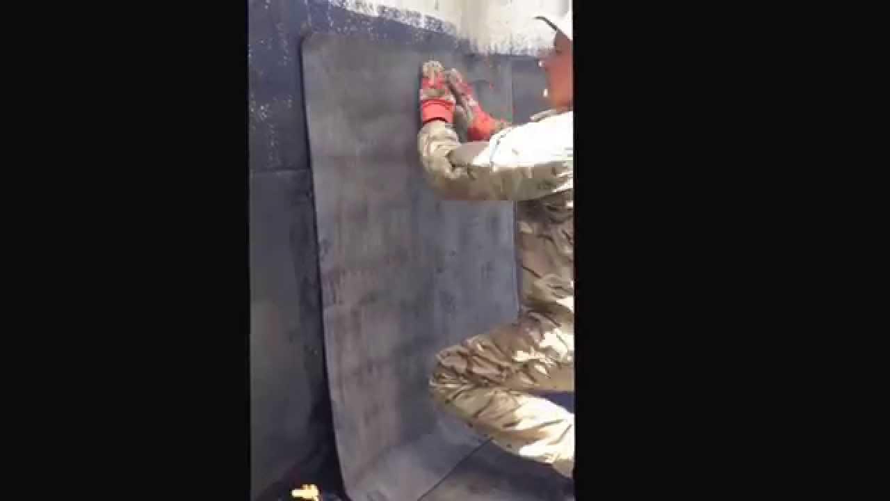 как правильно клеить технониколь на стену
