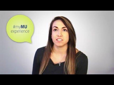 #myMUexperience - Alicia Harrison