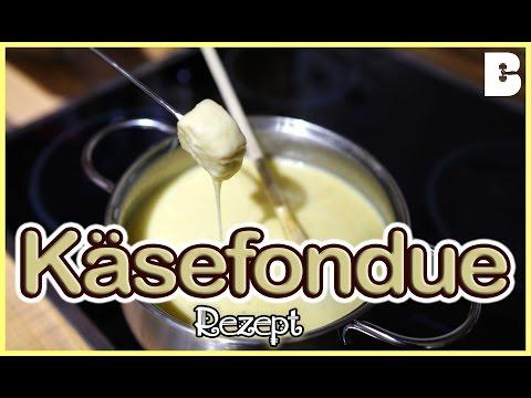 Käsefondue Rezept - BESTES Fondue selber machen - Silvester Essen