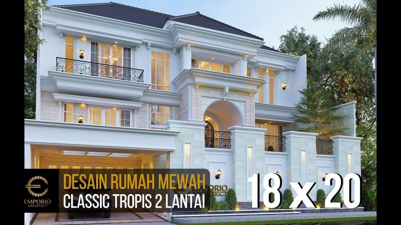 Video 3D Mr. Tomy Classic House 2 Floors Design - Balikpapan, Kalimantan Timur