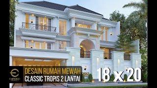 Video Desain Rumah Classic 2 Lantai Bapak Tomy di  Balikpapan, Kalimantan Timur