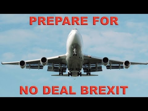 EU Airports told be Ready for No-Deal Brexit!