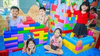 Kids Go To School   Chuns and Best Friends Design Ball House Children Fairy Garden Toys City