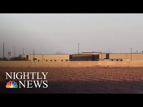 300 Migrant Children In Crowded Conditions Moved To Tent Camp After Outcry   NBC Nightly News