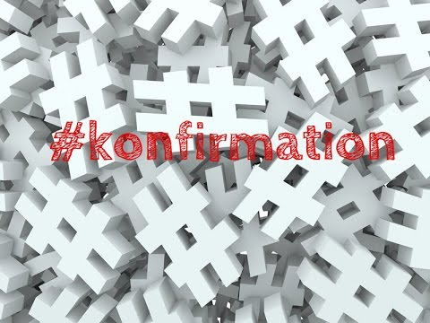 Hashtag konfirmationsprædiken