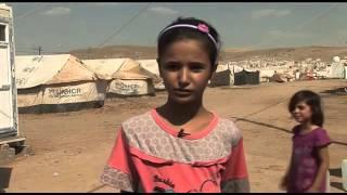 preview picture of video 'Kawergosk refugee camp in northern Iraq  Dimah, 12 |  ديما , صورة من معاناة لاجئو العراق'