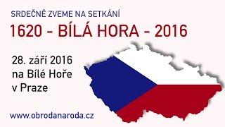 Pozvánka na akci 1620-BÍLÁ HORA-2016 Praze 28.9.2016