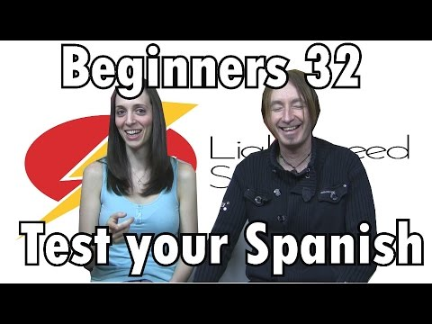 Spanish Lesson 32 Abs Beginners Test Your Spanish Lightspeed Spanish