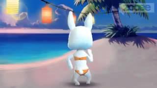 Зайка ZOOBE :) А на море белый песок :)