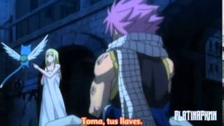 『FAIRY TAIL』S2 Cap Ep 19 Nalu (NatsuxLucy) Funny Moments