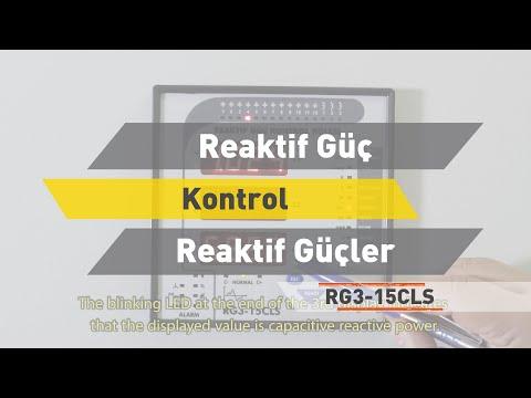 RG3 - 15 CLS Reaktif Güç Kontrol Rölesi - Reaktif Güçler