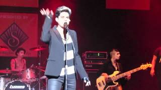 Adam Lambert - HD Trespassing & Kickin In - Wilkes-Barre, PA