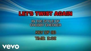 Chubby Checker - Let's Twist Again (Karaoke)